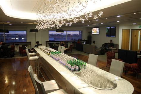 Images from British Airways Galleries Club Lounge, London