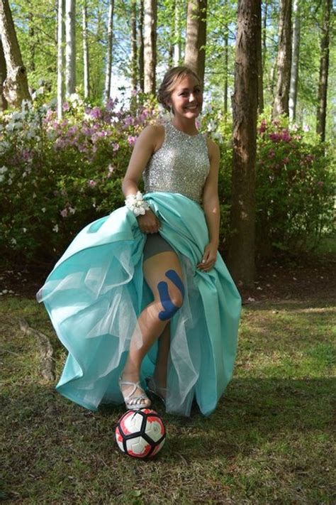 This Soccer Player's LOL Prom Pic Is One Every Busy Girl