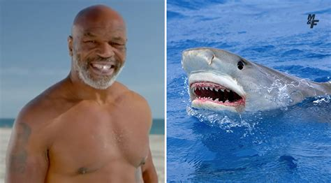 Mike Tyson Will Battle Jaws for 'Shark Week,' Because It's