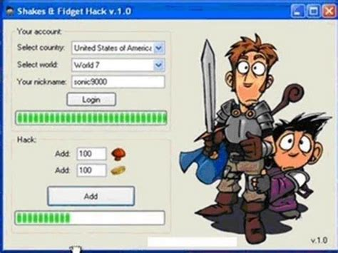 Shakes and Fidget Hack - Shakes and Fidget Free Gold