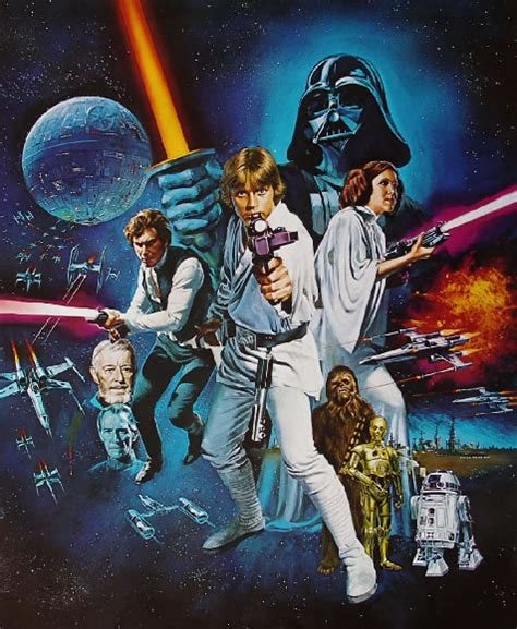 Which MBTI type are the characters from Star Wars? (Old