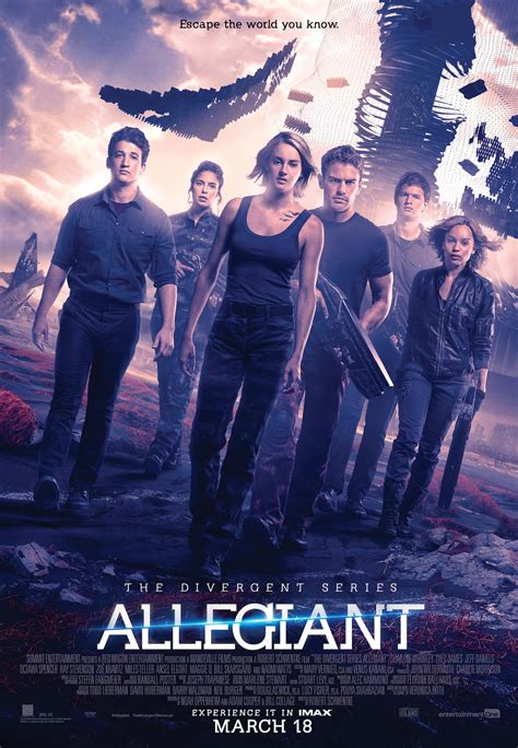 Divergent Series: Allegiant Trailer and Poster are Here!