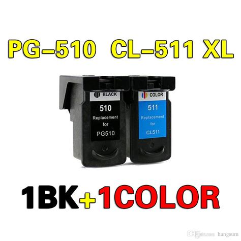 2020 PG 510 PG 511 Ink Cartridge Compatible For CANON