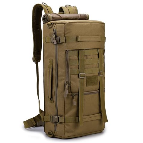 New 50L Camo Backpack Tactical Military Rucksack Gear