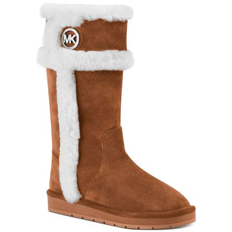 Lyst - Michael Kors Winter Tall Boots in Brown