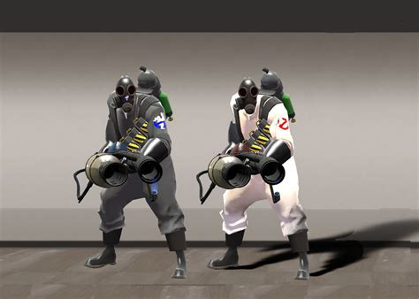 Ghostbuster Pyro | Team Fortress 2 Skin Mods
