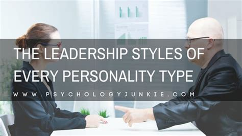 The Leadership Styles of Every Myers-Briggs® Personality