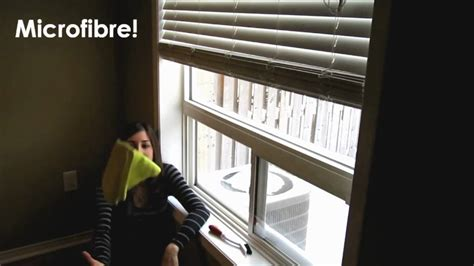 How-to Clean Window Sills (Easy Household Cleaning Ideas