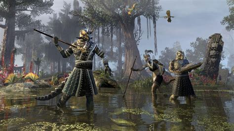 Visit Murkmire for the first time in The Elder Scrolls