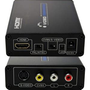 RCA/S-Video input to HDMI output converter - CableKiosk