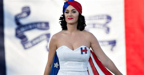 Katy Perry Shares 'Naked Voting' Photo To Support Hillary