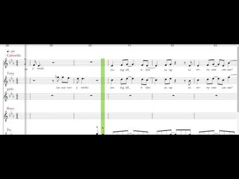 Almost Is Never Enough - Ariana Grande free piano sheet