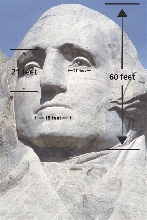How Big Are The Heads? - Mount Rushmore National Memorial
