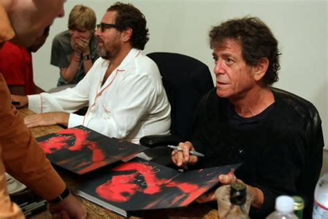 """Lou Reed And Julian Schnabel Book Signing Party For """"BERLIN"""""""