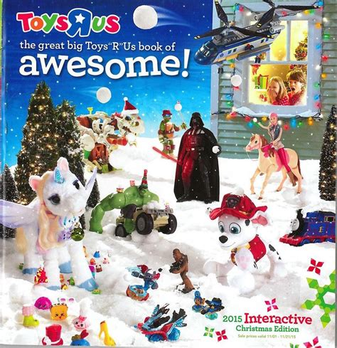 2015 holiday toy books: Wal-Mart, Toys 'R' Us, Target and