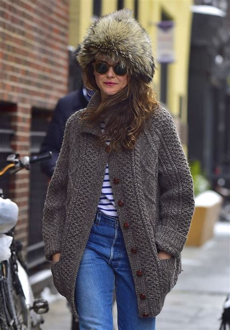Keri Russell out in New York   GotCeleb