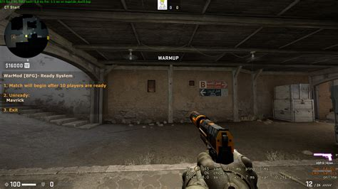 Running a 128tick CSGO Server on Windows with WarMod   by