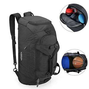 Outdoor Gym Sports Duffel Backpack Luggage Bag Shoe
