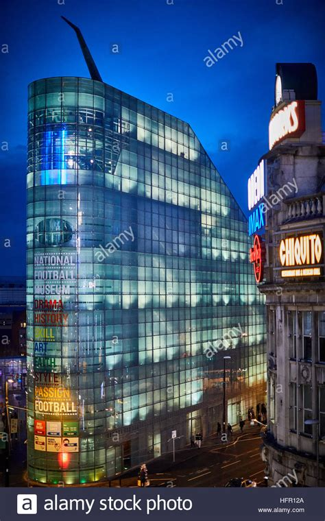 Urbis, National Football Museum in Manchester Stock Photo