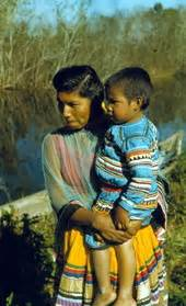 Florida Memory - Seminole Indian mother and child at the