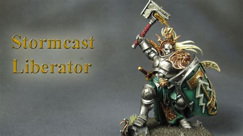 How to Paint Age Of Sigmar - Liberator