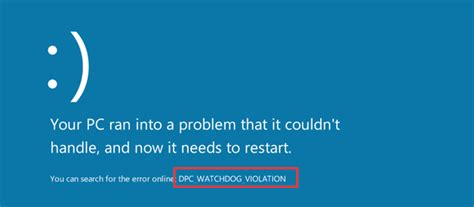 [Solved] How to Fix DPC Watchdog Violation in Windows 10?