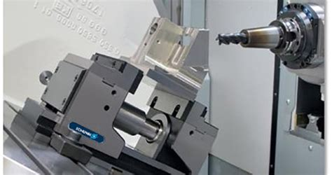 Clamping system for simultaneous 5-axis machining