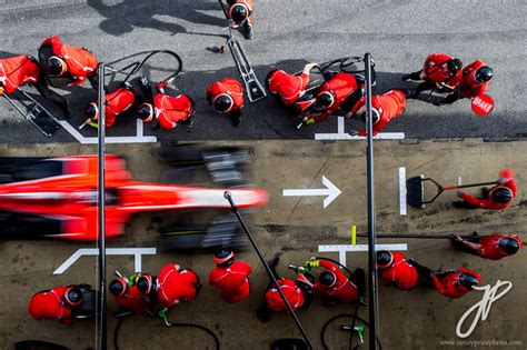 Picture of the Day: F1 Pit Stop from Above «TwistedSifter