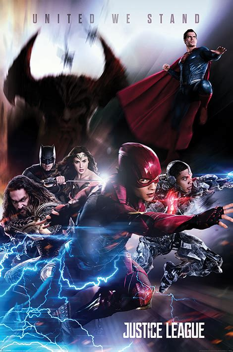 Superman Takes Flight In New Justice League Movie Poster
