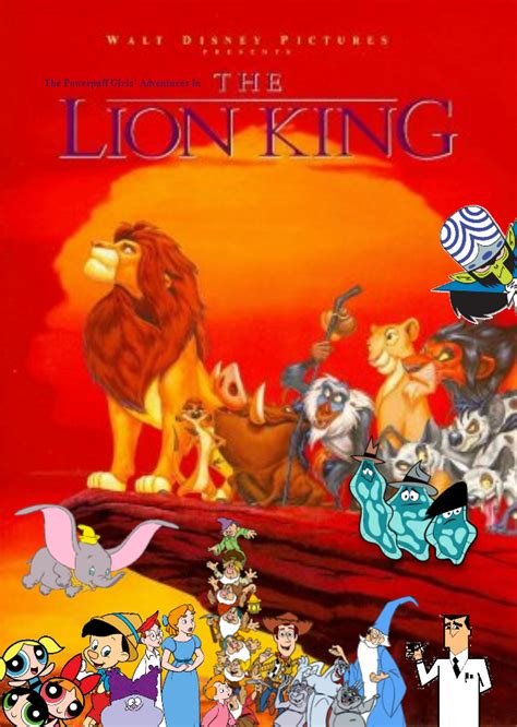The Powerpuff Girls' Adventures in The Lion King | The