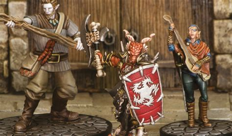 Gale Force Nine To Release D&D Force Grey Miniatures Set