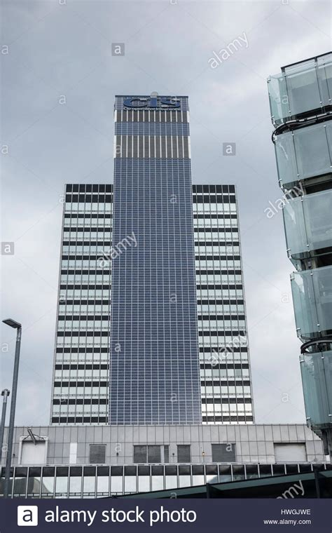 CIS Tower in Manchester, England