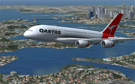 Fsx Airbus A380 V2 - Fsx Aircraft Airliners - Fsx Add-ons