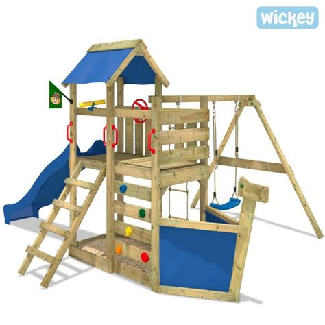 Climbing frame Wickey SeaFlyer in 2020   Wooden climbing