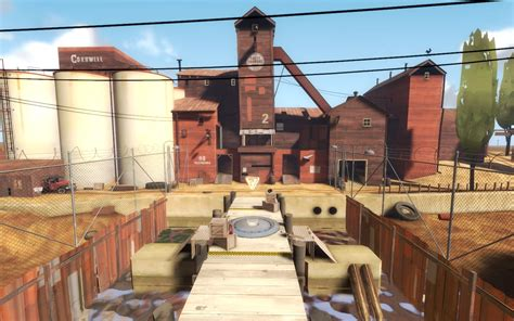 2fort King of the Hill | Team Fortress 2 Maps